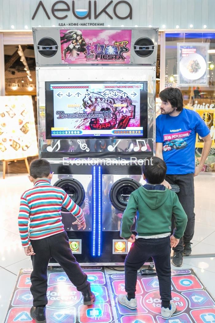 игровые аренда автоматы имитатор детские танцевальный